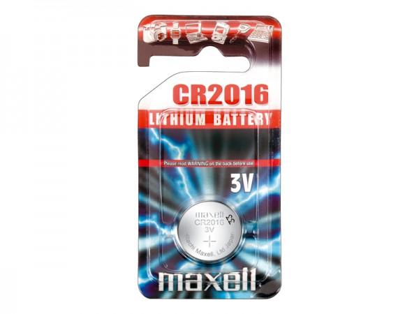 Maxell® CR 2016 Lithium Mikrobatterien