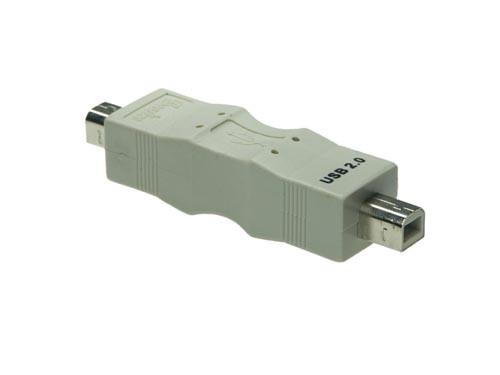 USB Gender Changer B Stecker an B Stecker, Good Connections®