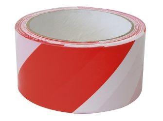 Absperrband, rot-weiß, 100m