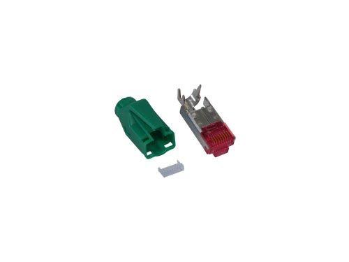 TM 21 Hirose Stecker Cat. 6, grün, Good Connections®