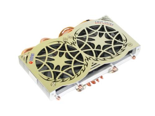 Titan® TWIN TURBO Heatpipe VGA-Kühler TTC-CSC88TZ(DIY)