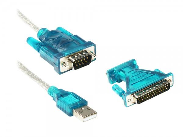 USB 2.0 an Seriell Konverter, 0,8m