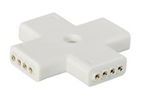 Kreuz-Adapter für LED-Leisten, 2 Stück