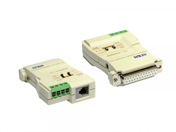 Konverter RS-232 auf RS-422 / RS-485, Point-to-Point oder Point-to-Multipoint, ATEN® [IC485S]