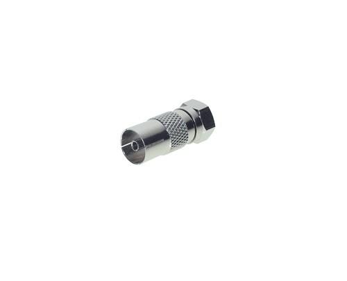 IEC-Buchse/F-Stecker, ZZF, Good Connections®
