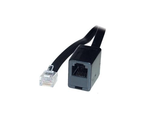RJ12 Telefonverlängerung 1:1 6p6c Stecker an Buchse, 10m, Good Connections®