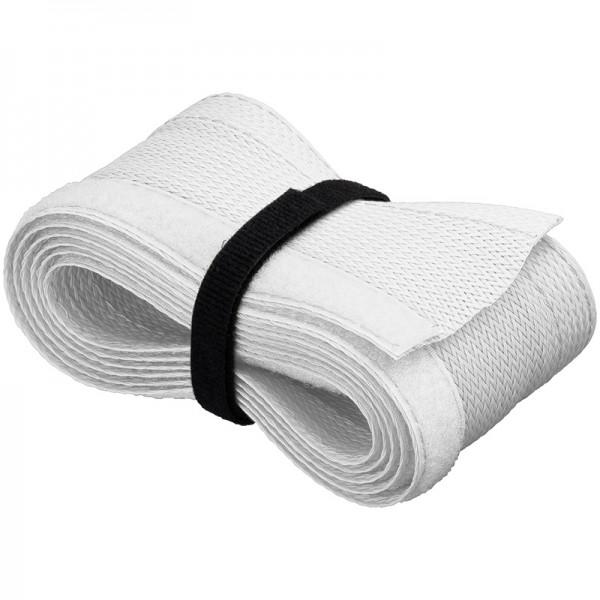 Kabelschlauch mit Klettverschluss zur sauberen Kabelbündelung, weiß, 1,8m
