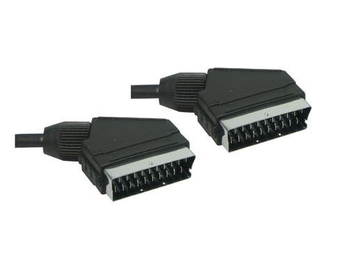 Anschlusskabel Scart Stecker an Stecker, 1,8m, Good Connections®