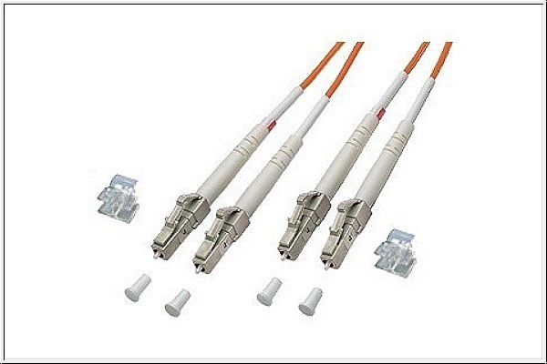 Patchkabel LWL Duplex OM1 (Multimode, 62,5/125) LC/LC, 2m, Good Connections®
