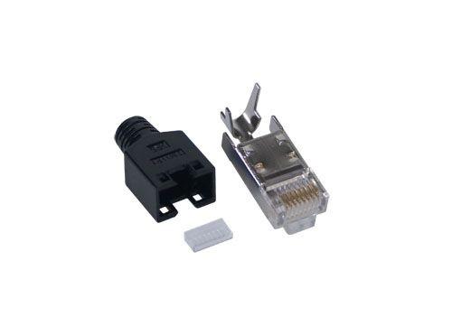 Hirose-Stecker für FTP, kpl., schwarz, Good Connections®