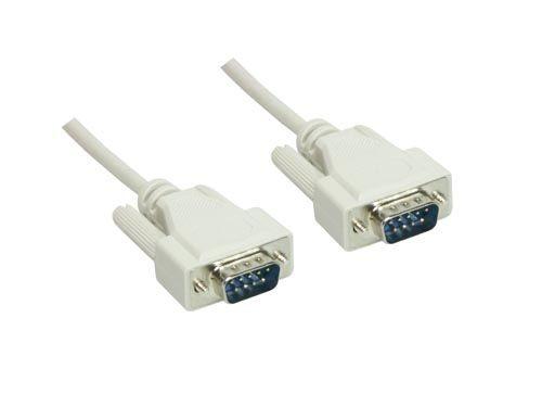Serielle Verbindung 9-Pol Stecker an Stecker 1:1 Länge: 5m, Good Connections®