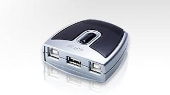 Aten® USB 2.0 Switch US-221, 2 PC an einem USB Endgerät