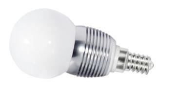 LED Lampe, 4W, 230V, 240 lm, 3000K, (warmweiß), dimmbar, A+, >180° Abstrahlwinkel