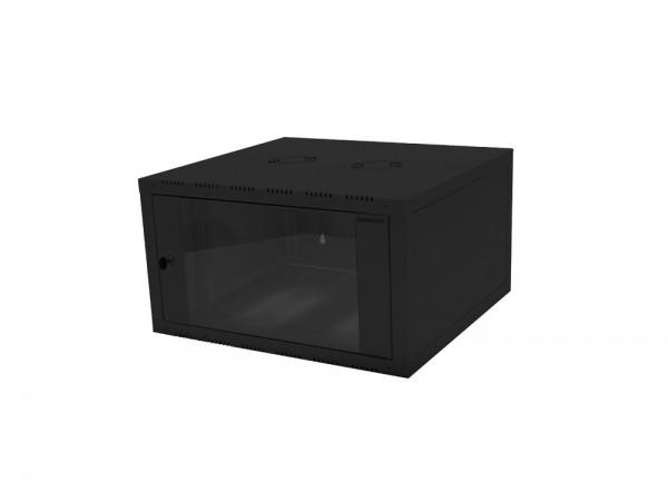 """19"""" Wandgehäuse einteilig 15HE 600X560mm, schwarz, LogiLink® [W15E66B]"""