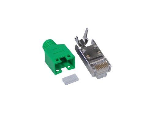 Hirose-Stecker TM11 für FTP, kpl., grün