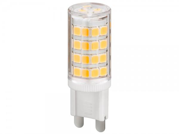 LED Kompaktlampe, Sockel G9, 3,5W, 230V, 370 lm, 6000K, (kaltweiß), nicht dimmbar, A++, Abstrahlwinkel 280°