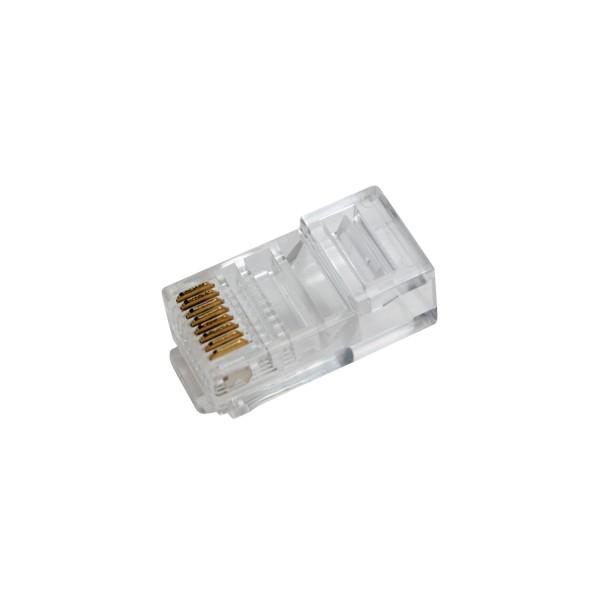 LogiLink® RJ45 Modularstecker, ungeschirmt [MP0020]