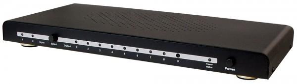 HDMI Switch 2-fach und HDMI Splitter 8-fach
