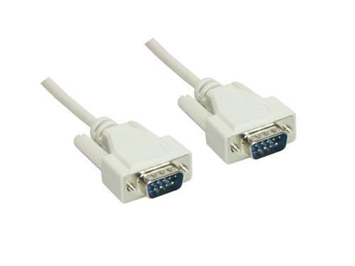 Serielle Verbindung 9-Pol Stecker an Stecker 1:1 Länge: 3m, Good Connections®