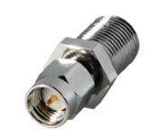 SMA-Adapter, SMA-Stecker an F-Kupplung
