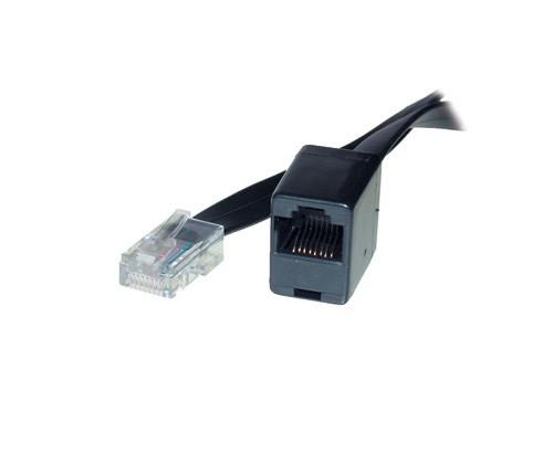 ISDN-Verlängerungskabel, 8-adrig, schwarz, 3m, Good Connections®