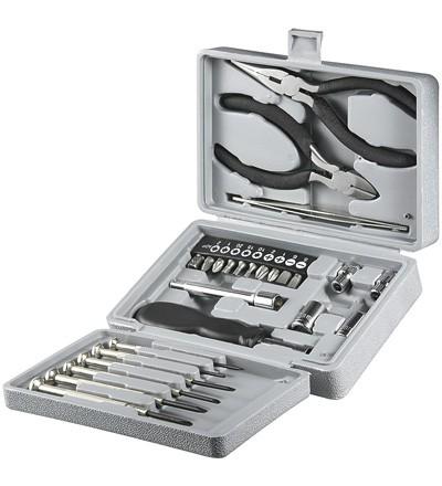 Werkzeug Klappbox 25-teilig