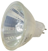 Halogen-Spiegellampe, 50W, 12V, 400 lm, 2700K, (warmweiß), dimmbar, D, 12° Abstrahlwinkel, 3er Blister