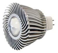 Power-LED, 3W, 12V, 120 lm, 3800K, (warmweiß), nicht dimmbar, A, 45° Abstrahlwinkel