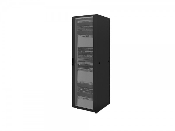 """19"""" Netzwerk Standschrank, 32HE, 800x800mm, schwarz, LogiLink® [D32S88B]"""
