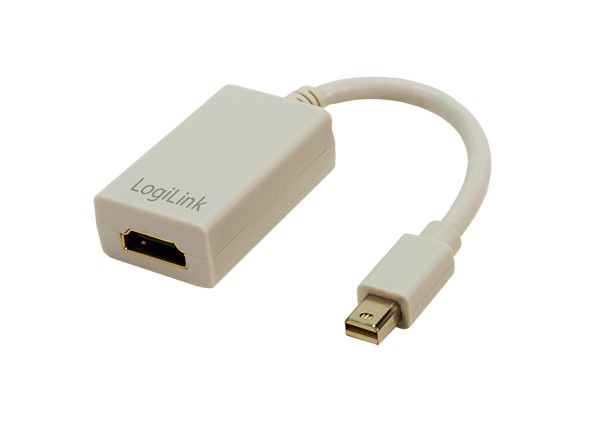 LogiLink® Adapter Mac mini DisplayPort auf HDMI Buchse [CV0036A]