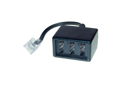 Telefonadapter RJ45 (8/4) Stecker an NFN Buchse, Good Connections®