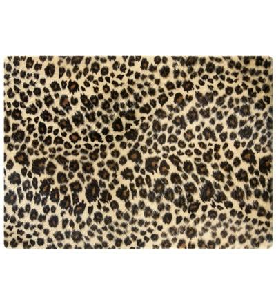 Notebook Skin Leopardenfell, Stoff bis zu 12 Zoll, 280 x 200mm
