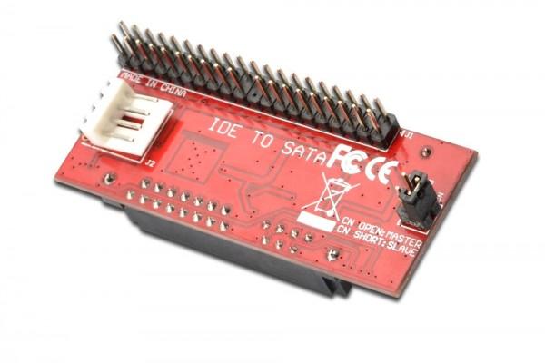IDE zu SATA Adapter, Konform mit Serial ATA 1.0a Spezifikation JM20330 Chipsatz, Digitus® [DS-33151-1]