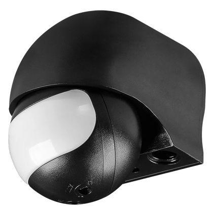 Infrarot Bewegungsmelder, slim Aufputz, outdoor, schwarz