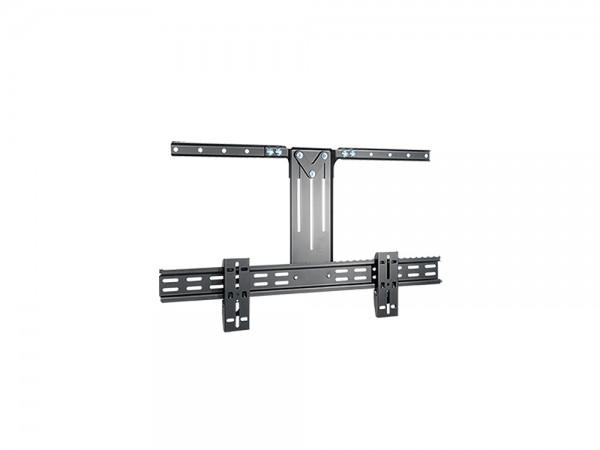 Halterung für Zusatzlautsprecher, Belastung bis 5 kg, schwarz, My Wall®