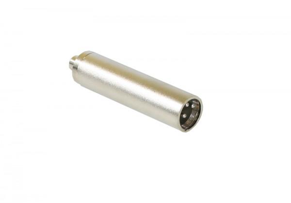 Adapter XLR-Stecker an 6,3 Klinkenbuchse Mono, Good Connections®