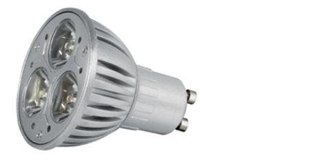 Power LED, GU10, 230V, 3,5W, 110lm, Ø 50 x 65mm, 4000K, Abst