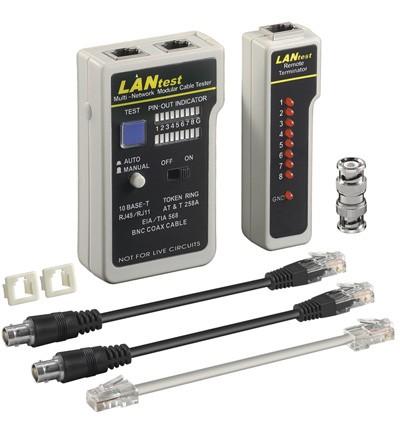 Netzwerk/Leitungstester für RJ45,RJ11,RJ12, 9-teilig