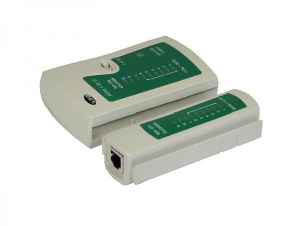 Netzwerkkabel-Tester für RJ11 und RJ45