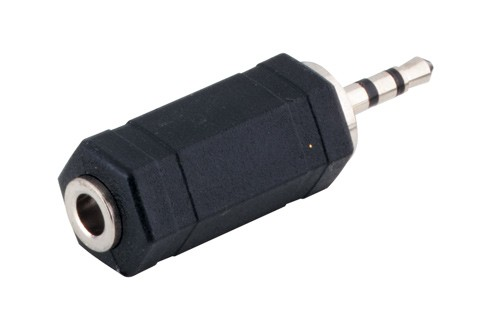 Audio Adapter 2,5mm Stereo Stecker / 3,5mm Stereo Buchse, Good Connections®