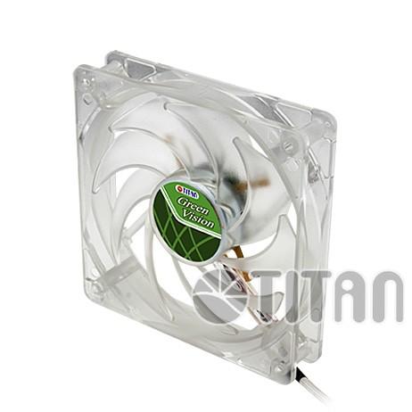 Lüfter, Green Vision, 4-farbig, 120x120x25mm, Titan® [TFD-12025GT12Z/LD1/V2(RB)]