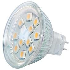 Power SMD-LED, 3W, 12V, 180 lm, 3000K, (warmweiß), dimmbar, A+, 120° Abstrahlwinkel