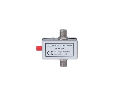 SAT-In-Line Dämpfer F-Bauform 47-2400 MHz