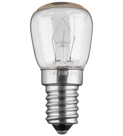 Backofenlampe E14, 25W, 230V AC
