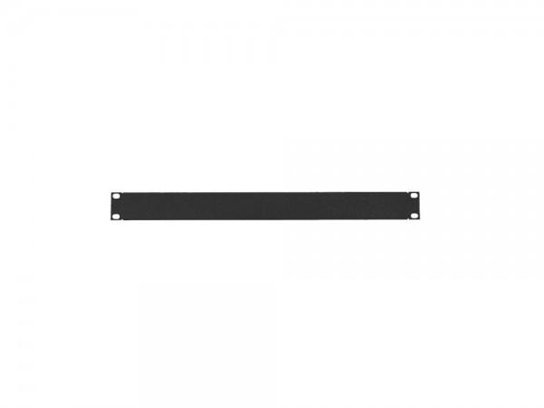 """19"""" Geschlossenes Blindpanel 2HE, schwarz, LogiLink® [PN102B]"""