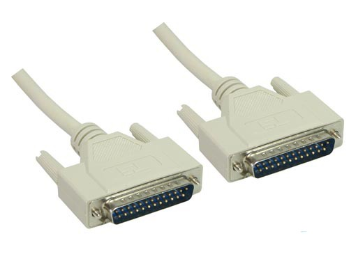 Serielle / Parallele Verbindung, 25pol St/ 25pol St, Länge: 5m, Good Connections®